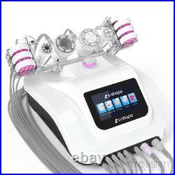 S Shape Vacuum 30K Cavitation Ultrasonic RF EL Loss Weight Body Slimming Machine