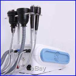 Spa Vacuum Ultrasonic Cavitation 5 IN 1 Radio Frequency RF Body Slimming Machine