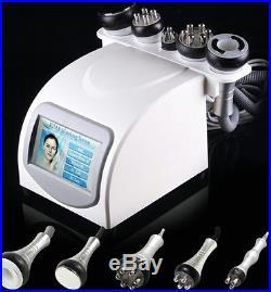 Tripolar RF Vacuum Cavitation 5in1 Cellulite Removal Ultrasonic Slim Machine CE