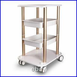 Trolley Stand Medical Rolling Carts 4 Wheel For Ultrasonic Cavitation RF Machine