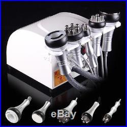 USA! 5 in1 Ultrasonic Cavitation Radio Frequency Slim Machine Vacuum Health Care