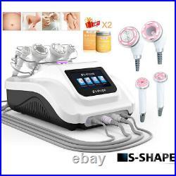 USA Ultrasonic S-SHAPE Cavitation EMS RF Vacuum Slimming Machine Fat Burnt