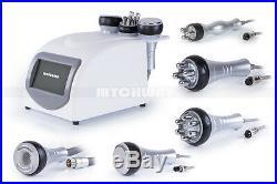 US Ship 5 in1 Ultrasonic Cavitation Radio Frequency Slim Machine Vacuum Body