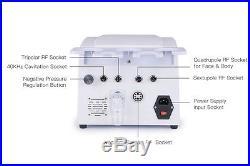 US Ship 5 in1 Ultrasonic Cavitation Radio Frequency Slim Machine Vacuum Body SPA
