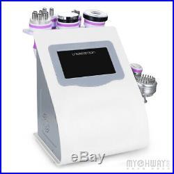 US Ship Ultrasonic Vacuum 40K Cavitation 3D Smart RF Body Slim Photon Machine