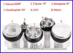 US Ultrasonic 6in1 Vacuum Cavitation RF Radio Frequency Slim Cellulite Machine