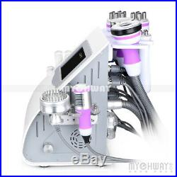 US Ultrasonic 9in1 Vacuum Cavitation RF Radio Frequency Slim Cellulite Machine