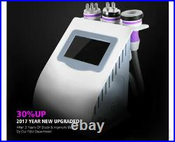 Ultrasonic 40K Cavitation 5 in 1 Vacuum RF Cellulite Remove Body Massage Machine