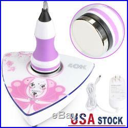 Ultrasonic 40K Cavitation Body Slimming Fat Cellulite Removal Salon Machine USA