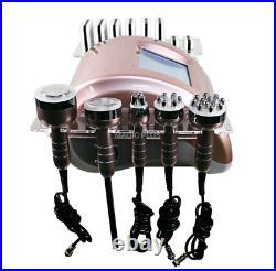 Ultrasonic 40K Cavitation Vacuum RF 6 in 1 Machine Lift Fat Loss Body Sculpting