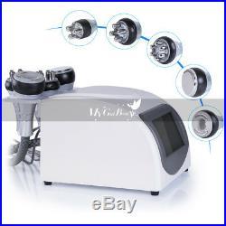 Ultrasonic 40K Cavitation Vacuum RF Body Slimming Skin Beauty Machine Dermabrasi