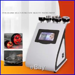 Ultrasonic 5in1 40K Cavitation Cellulite Removal Lipo Laser Slimming RF Machine