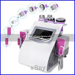 Ultrasonic 6 in1 Vacuum Cavitation RF Frequency Body Slimming Cellulite Machine