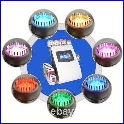 Ultrasonic 9in1 40K Vacuum Cavitation RF Cellilute Slimming Cellulite Machine US