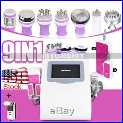Ultrasonic 9in1 Cavitation Vacuum RF Radio Frequency Slimming Cellulite Machine