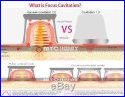 Ultrasonic Cavitation 40K Vacuum RF Vacuum Body Slimming Machine Anti Cellulite