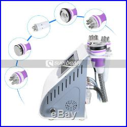 Ultrasonic Cavitation 5-1 Radio Frequency RF Vacuum Liposuction Slimming Machine