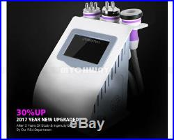 Ultrasonic Cavitation 5 IN 1 Radio Frequency Vacuum RF Body Slimming Machine Spa