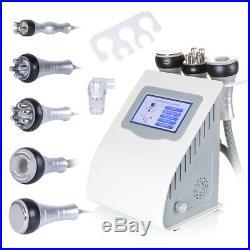 Ultrasonic Cavitation 5in1 Radio Frequency RF Vacuum Celluite Slimming Machine