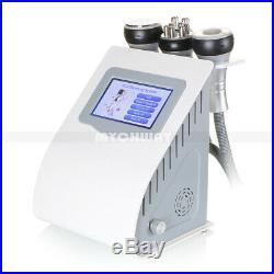 Ultrasonic Cavitation 5in1 Radio Frequency Vacuum Celluite Removal Machine Slim