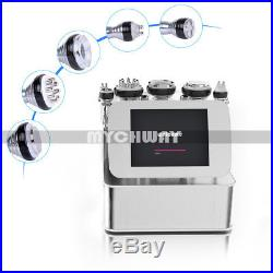Ultrasonic Cavitation 6-1 Radio Frequency RF Vacuum Liposuction Machine Slimming