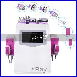 Ultrasonic Cavitation 6in1 RF Radio Frequency Vacuum Anti Cellulite Machine Spa