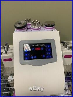 Ultrasonic Cavitation 6in1 RF Radio Frequency Vacuum Anti Cellulite Machine USA