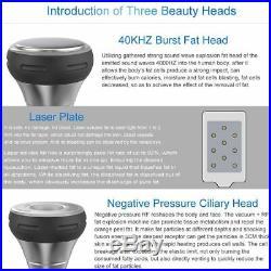 Ultrasonic Cavitation Fat Remove Body Massager Slimming Anti-Cellulite Machine y