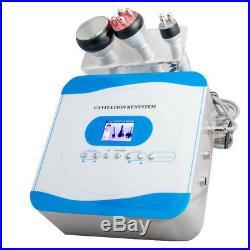 Ultrasonic Cavitation Multipolar RF Vacuum Slimming Fat Burn Weight Loss Machine