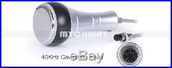 Ultrasonic Cavitation Radio Frequency Body Vacuum Slimming Machine + 5 Heads USA