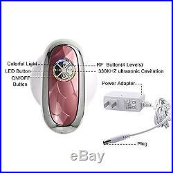 Ultrasonic Cavitation Slimming RF LED Massage Fat Burning Weight Loss Machine