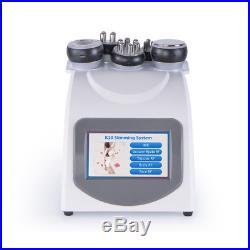 Ultrasonic Cavitation Vacuum Multipolar Radio Frequency RF Fat Dissolve Machine