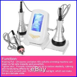 Ultrasonic Cavitation Vacuum RF Thin Massager Body Fat Cellulite Removal SPA