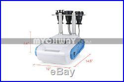 Ultrasonic Liposuction Focus Cavitation 40K 3in1 Vacuum RF Fat Removal Machine