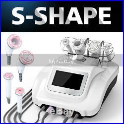 Ultrasonic S-SHAPE Cavitation EMS RF Vacuum Slimming Machine Free Microcurrent