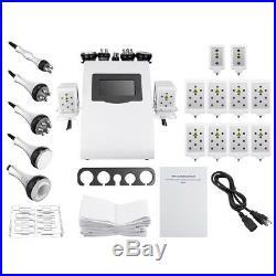 Ultrasonic Vacuum Cavitation RF Radio Frequency Slim Body Cellulite Machine 110V