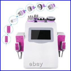 Ultrasonic Vacuum Cavitation RF Radio Frequency Slim Machine Body Beauty 6in1 US