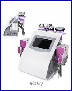 Ultrasonic cavitation slimming machine 6 in 1