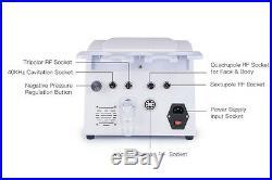 Updated 5 in 1 Ultrasonic Cavitation Radio Frequency Slim Machine Vacuum Body