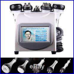 Vacuum Body fat burner5 in 1 Ultrasonic Cavitation Radio Frequency Slim Machine