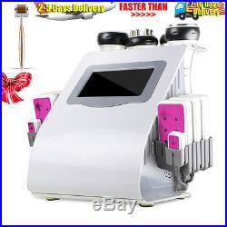 Vacuum Radio Frequency Lipo Laser Ultrasonic 40k Cavitation Fat Loss Machine Spa