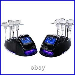 Vacuum Ultrasonic 80K Cavitation Radio Frequency RF Body Slimming Machine Spa