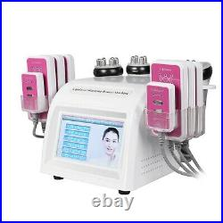 Vacuum Ultrasonic 80K Cavitation Radio Frequency RF Body Slimming Machine Spa US