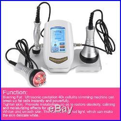 Vacuum Ultrasonic Cavitation 40K RF Body Beauty Machine Burn Fat Slim Cellulite