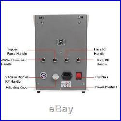 Vacuum Ultrasonic Cavitation 5 IN 1 Radio Frequency RF Body Fat Loss Machine Spa