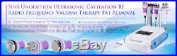 Vacuum Ultrasonic Cavitation 5 IN 1 Radio Frequency RF Body Slimming Machine Spa