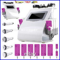Vacuum Ultrasonic Cavitation 6-1 Radio Frequency RF Body Slimming Machine Roller
