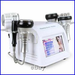 Vacuum Ultrasonic Cavitation 6 IN 1 Radio Frequency RF Body Slimming Machine Spa