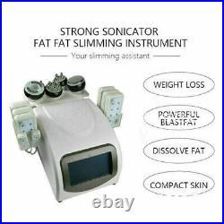 Vacuum Ultrasonic Cavitation 6 IN 1 Radio Frequency RF Body Slimming Machine US