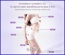 Vacuum Ultrasonic Cavitation 8 IN 1 Radio Frequency RF Body Slimming Machine Spa